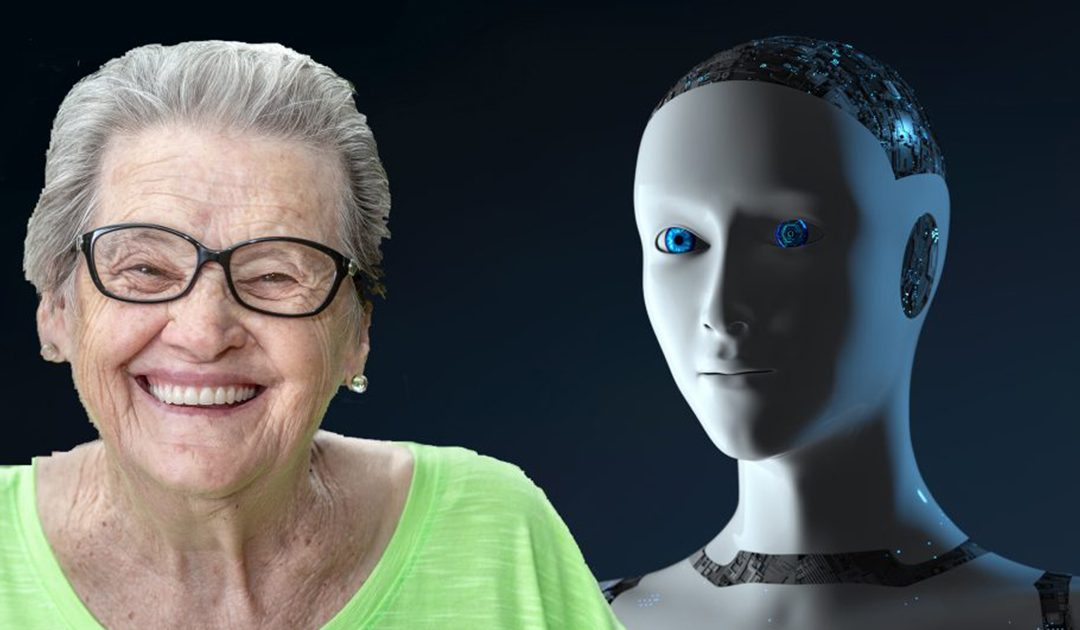 Diana Robot for people who suffer from dementia